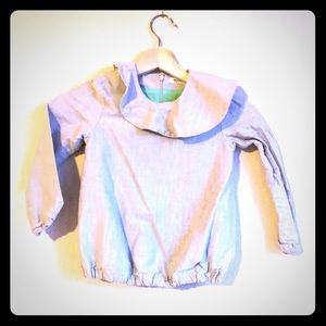 Other - 😱5 for $15😱 chambray woven fabric blouse